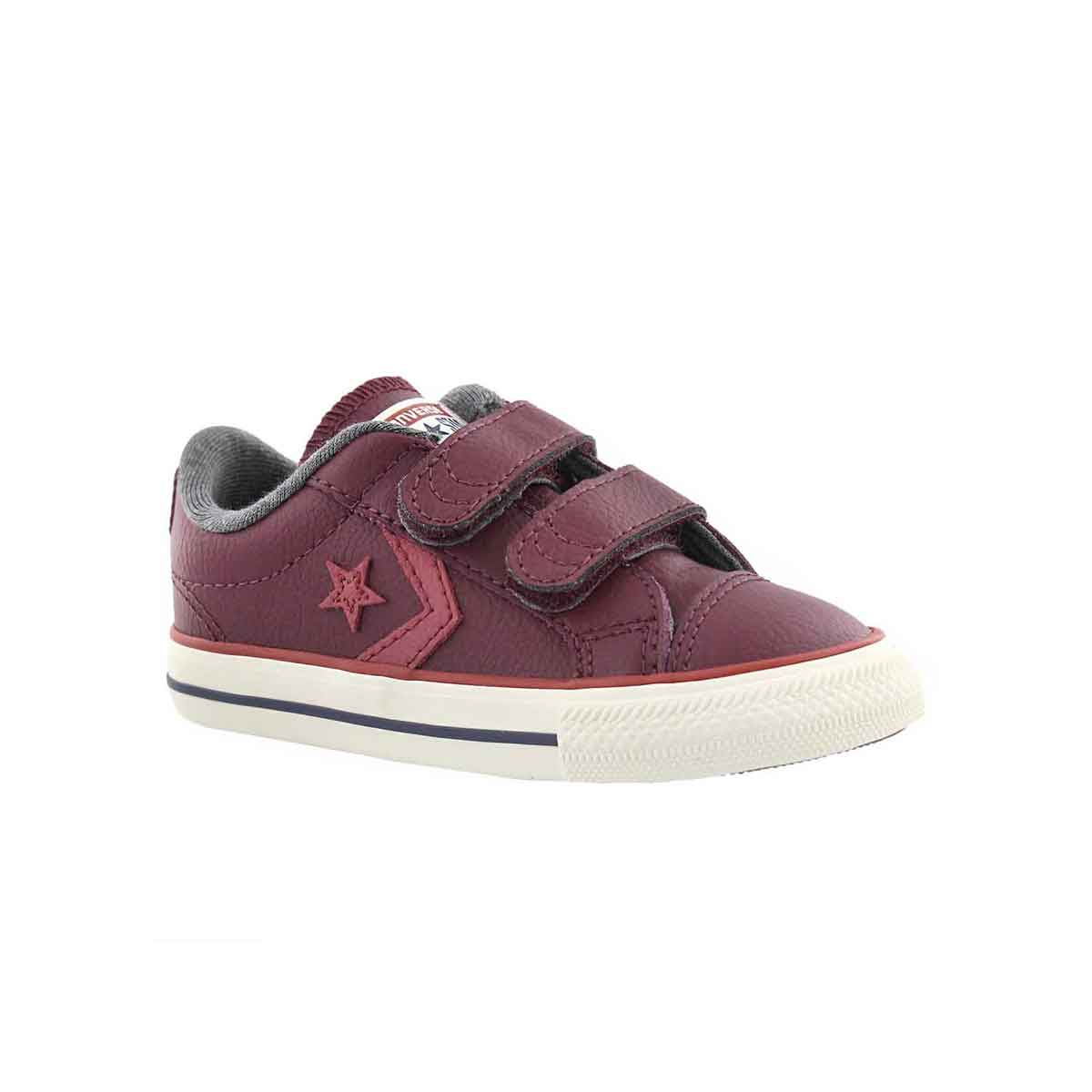 Infants' STAR PLAYER 2V dark sangria sneakers