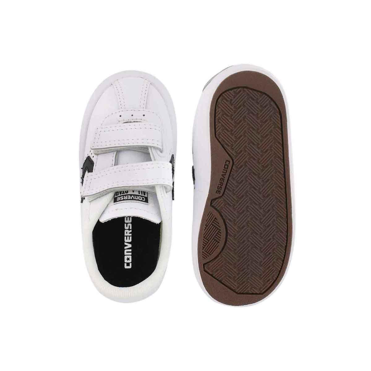 Infs-b Breakpoint wht/blk lthr sneaker