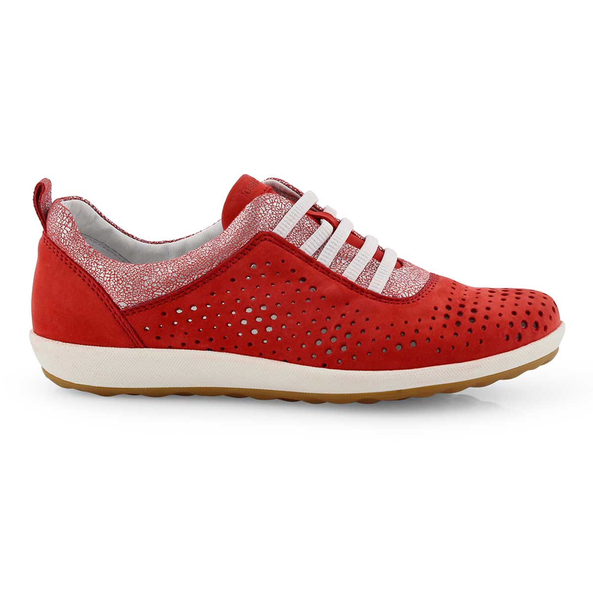 Lds Viola 01 red casual sneaker