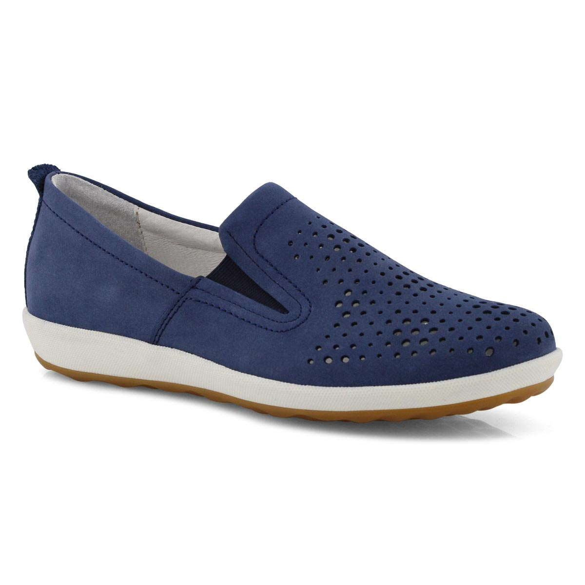 Lds Viola 07 blue casual slip on shoes