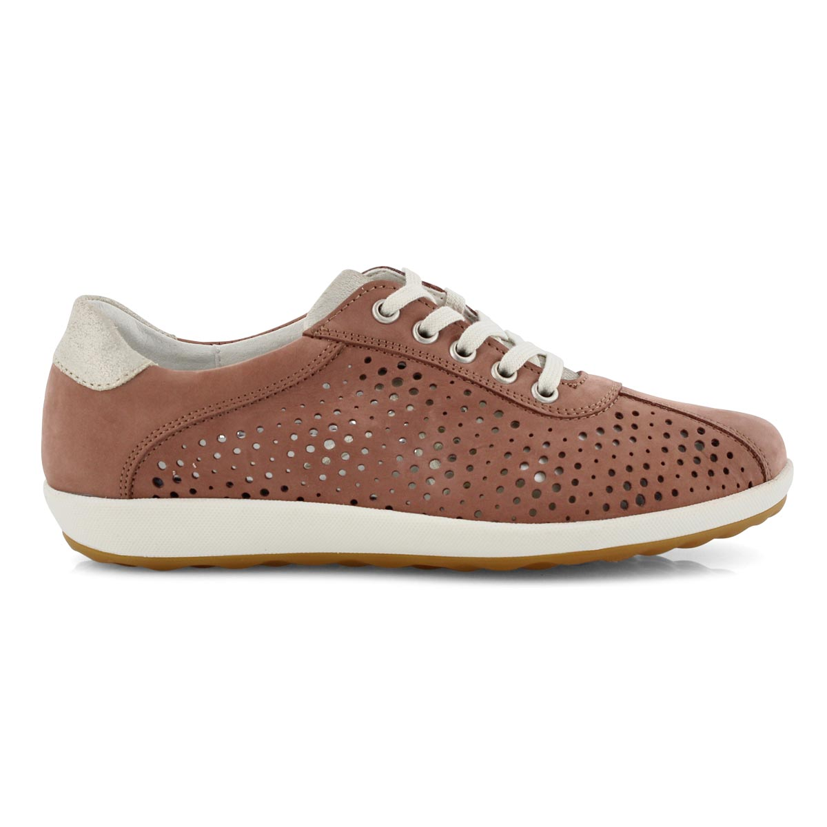 Lds Viola 09 rose lace up sneaker