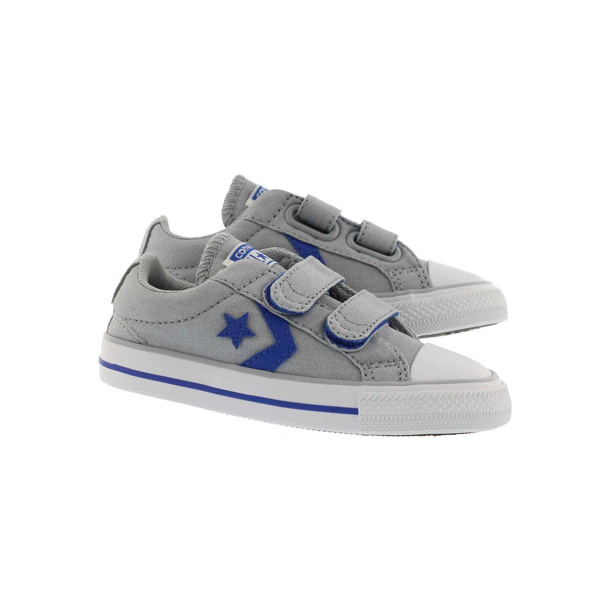 Infs-b Star Player 2V gry/blu/wt sneaker