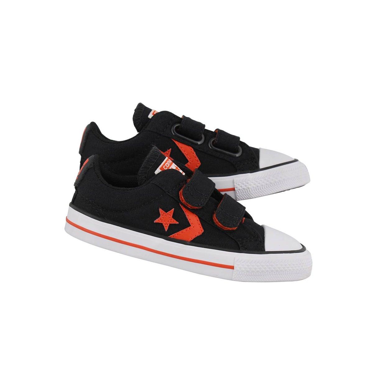 Infs-b Star Player 2V blk/rd/wht sneaker