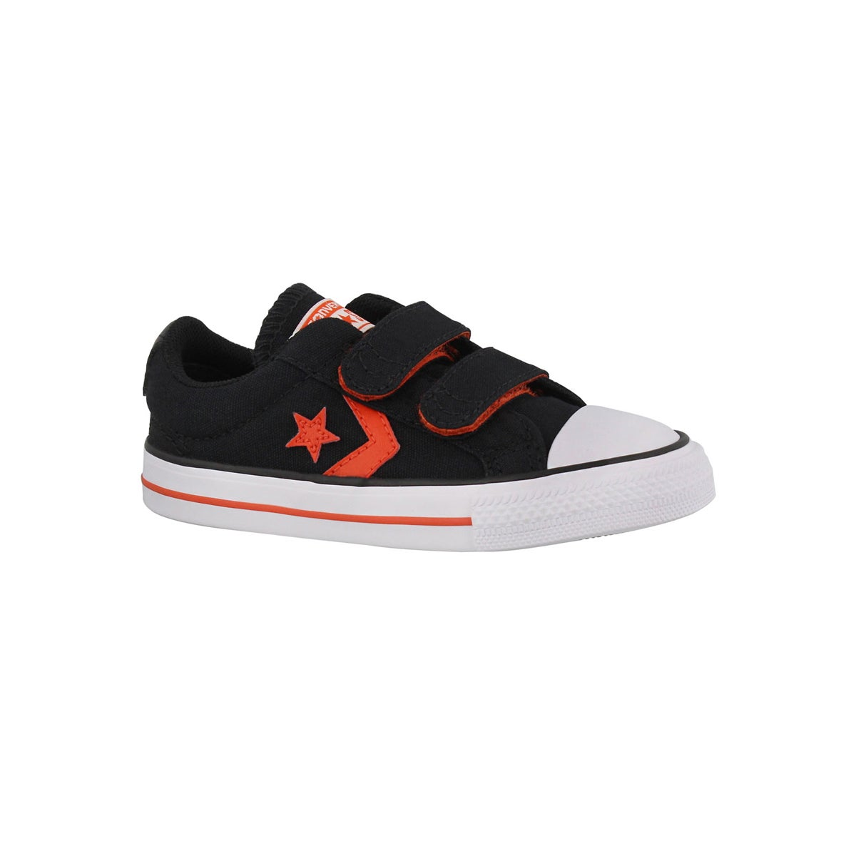 Infants' STAR PLAYER 2V black/red/whtie sneakers