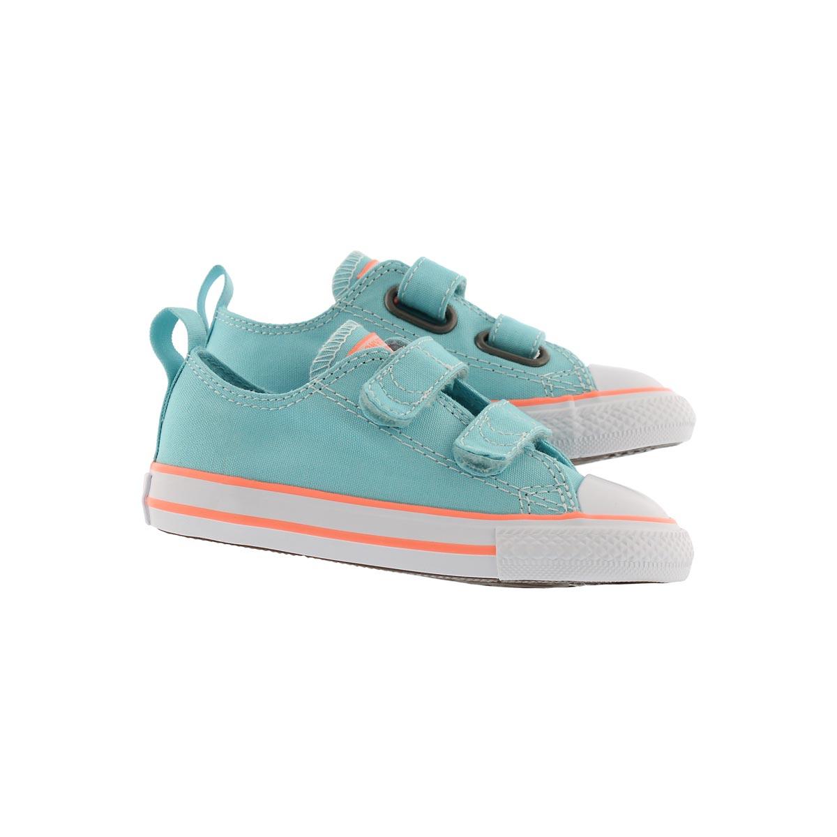 Infs-g CTAS 2V bleached aqua sneaker