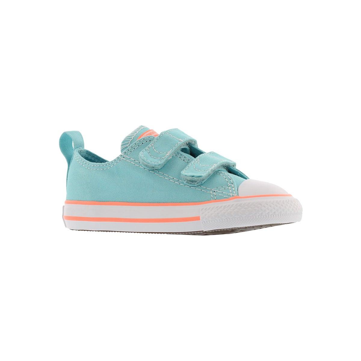 Infants' CT ALL STAR 2V bleached aqua sneakers