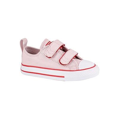 Infs-g CTAS 2V rose/red/wht sneaker