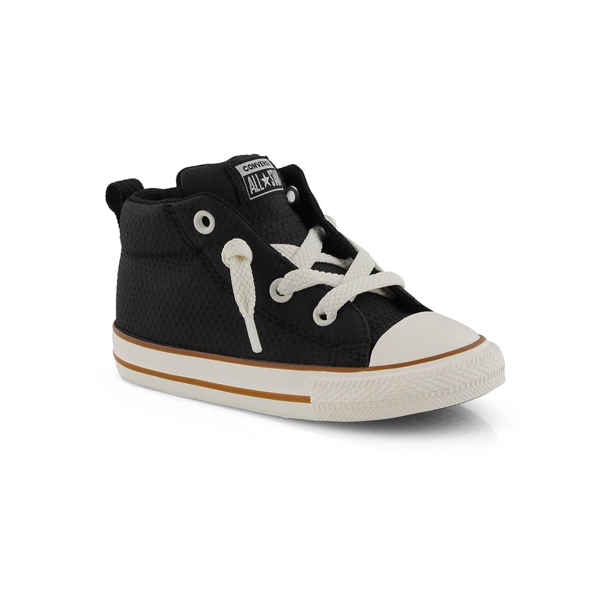 Inf-b CTAS Street Mid blk/gum sneaker