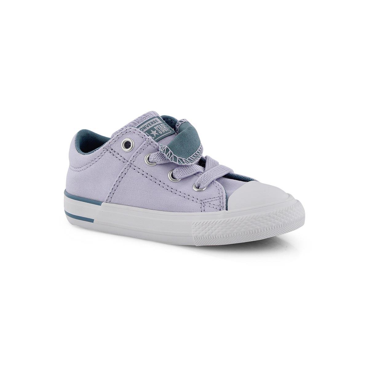 Inf-g CTAS Maddie purple/teal sneaker