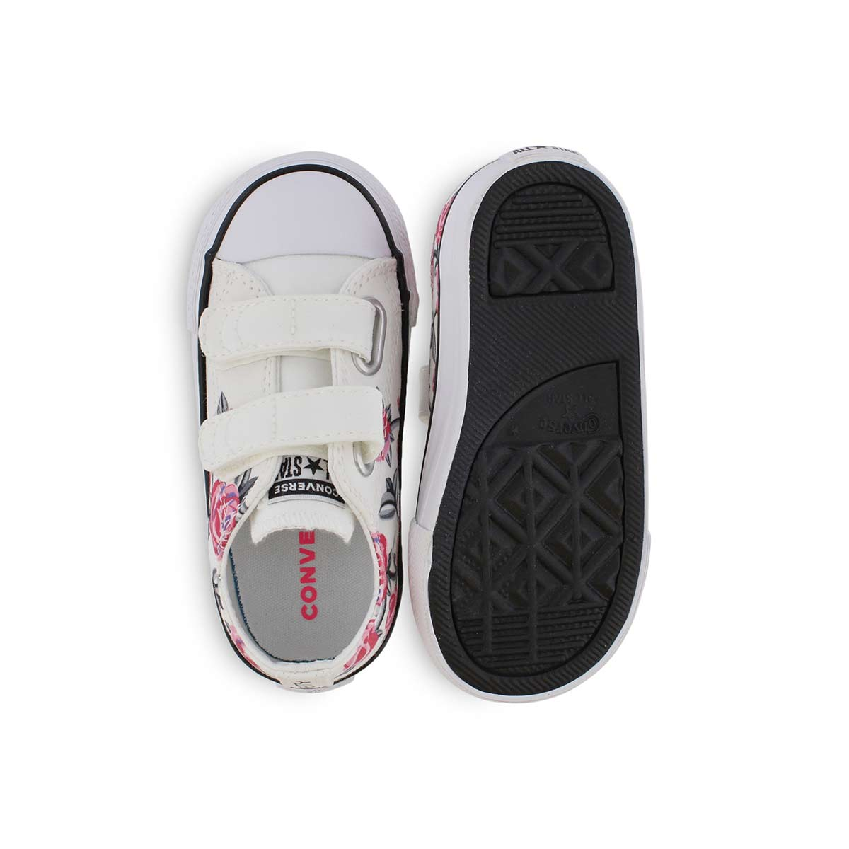 Inf-g CTAS Girl Power wht/pnk sneaker