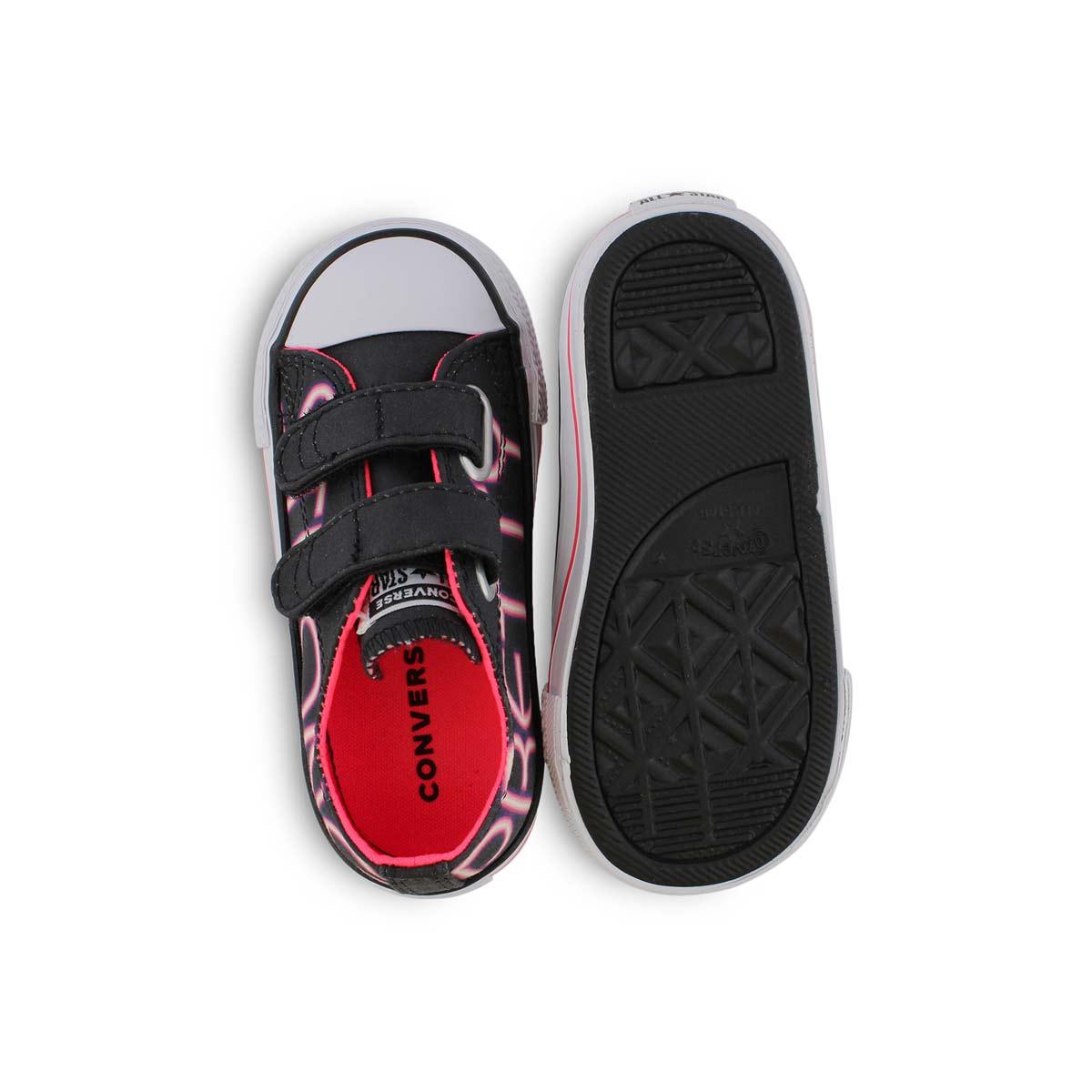 Inf-g CTAS Girl Power blk/pnk sneaker