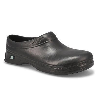 Lds Clara black non-slip clog