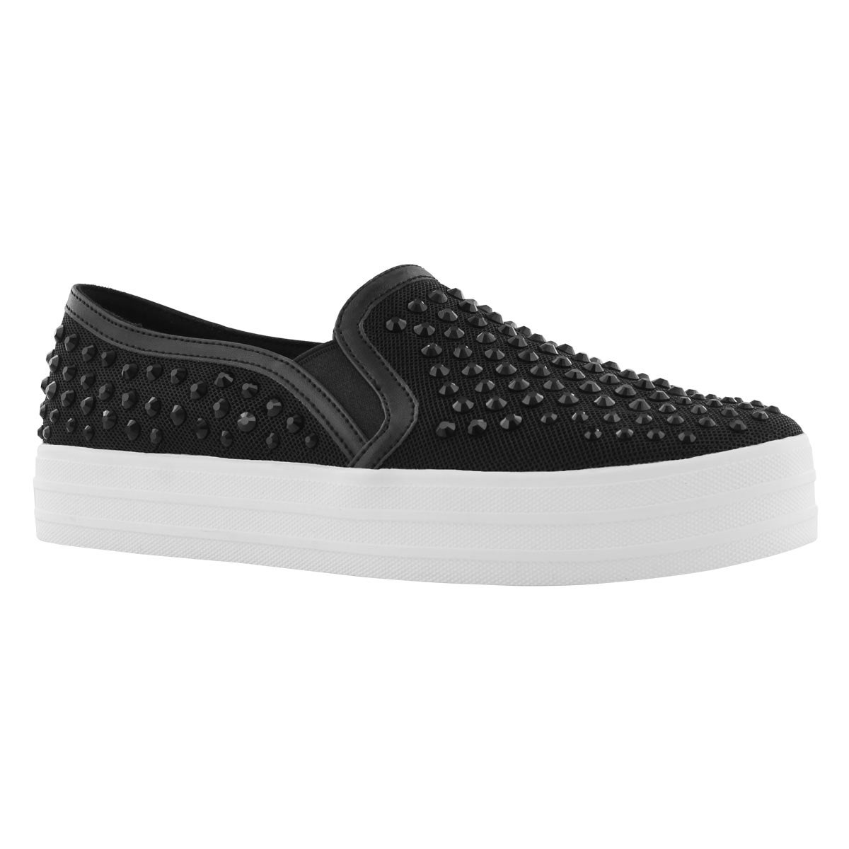 Lds Double Up Rhine-Steps blk slip on