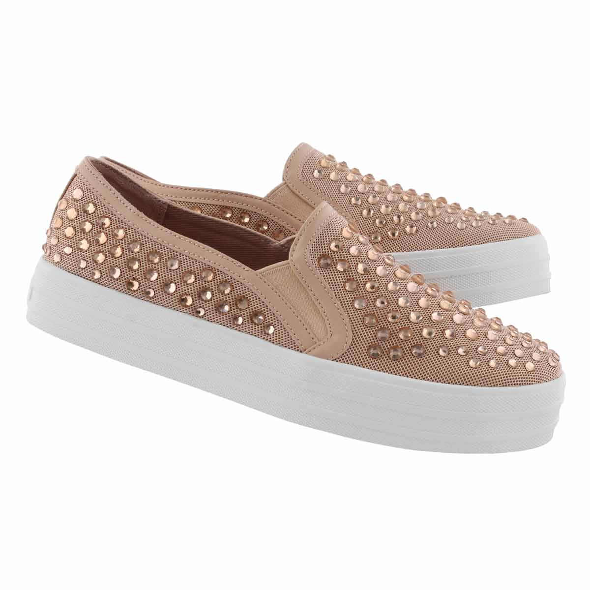Lds Double Up Rhine-Steps pink slip on