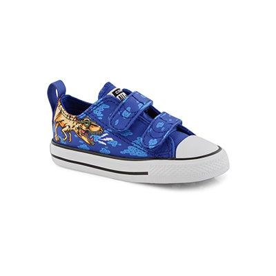 Inf-b V2 Ox blu/mlti canvas sneaker