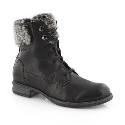 Lds Sanja 03 schwarz combat boot