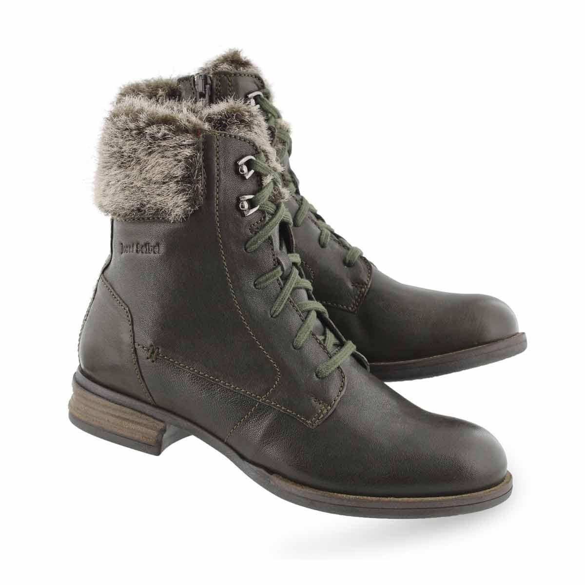 Lds Sanja 03 olive combat boot