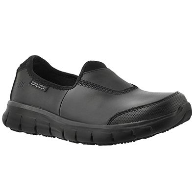 Lds Sure Track blk non-slip slip on