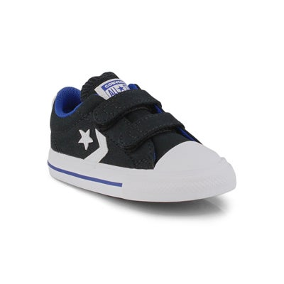 Inf-b Star Player 2V blk/blu sneaker