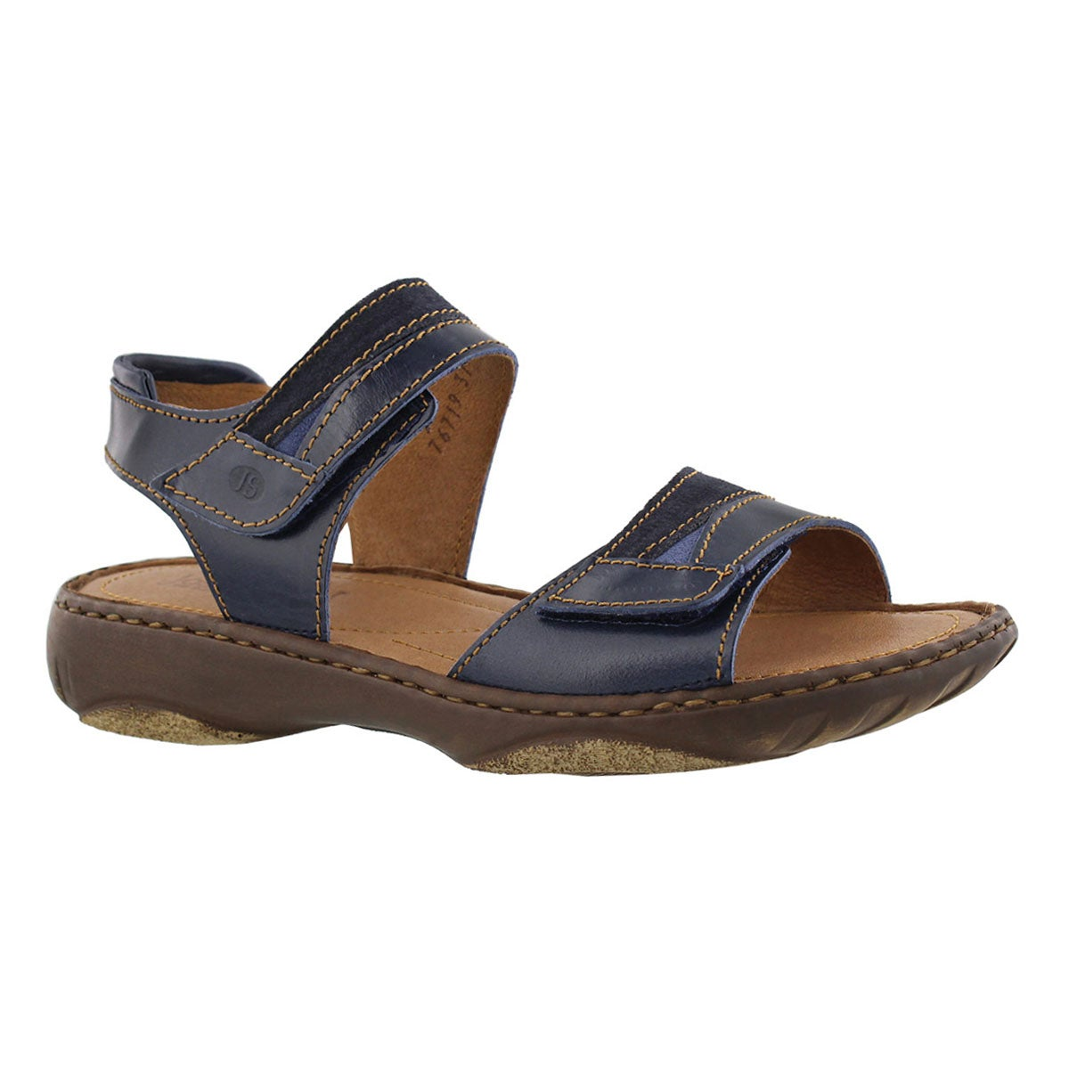 Women's DEBRA 19 denim casual 2 strap sandals