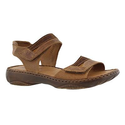 Josef Seibel Women's DEBRA 19 castagne casual 2 strap sandals