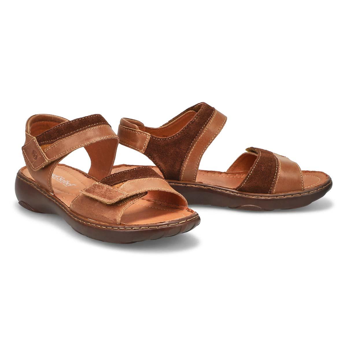 Sandale à 2 sangles Debra 19, brun, femm