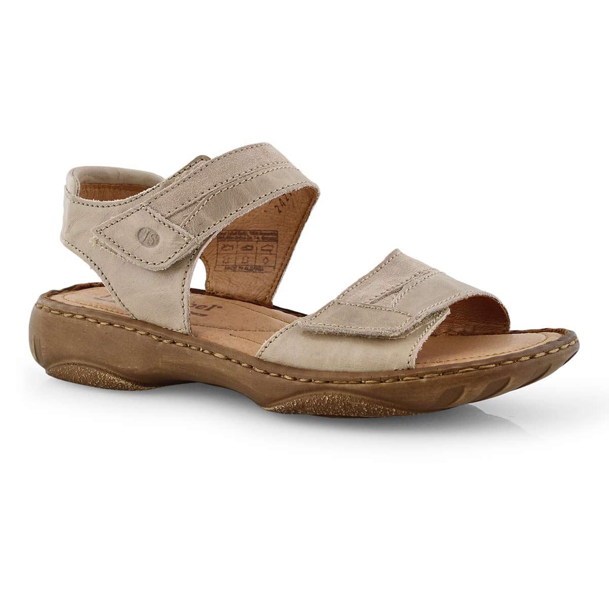 Lds Debra 19 sand casual 2 strap sandal