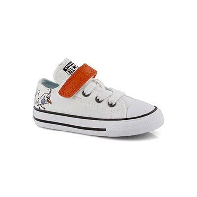 Inf-g CTAS Frozen Olaf white ox sneaker