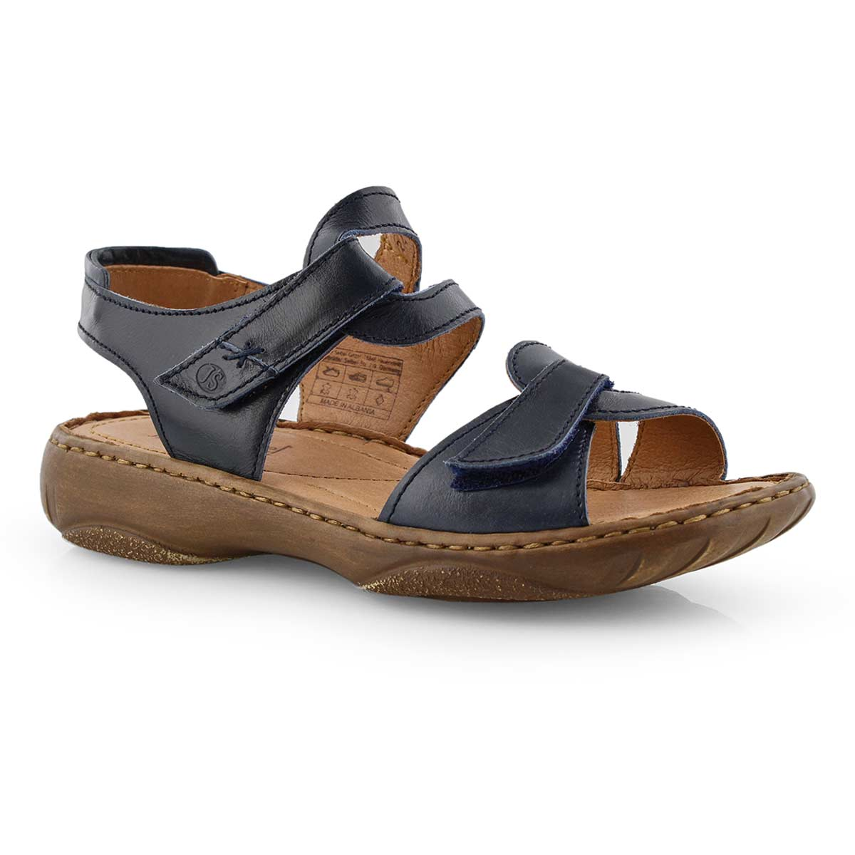 Lds Debra 39 jeans casual 2 strap sandal
