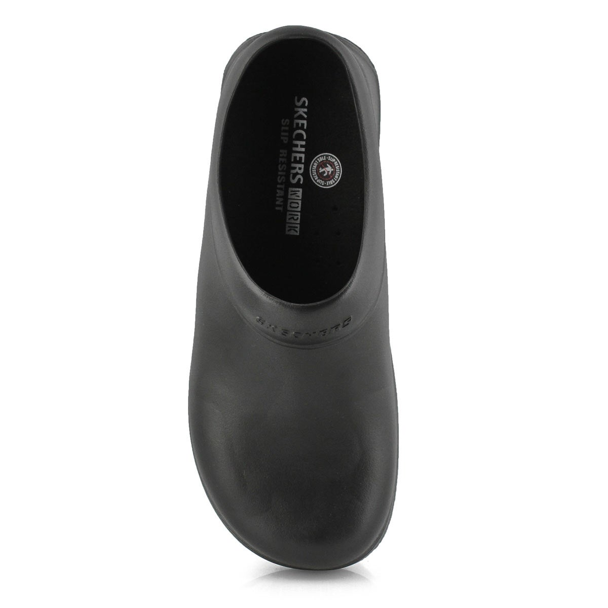 Mns Oswald black non-slip work clog