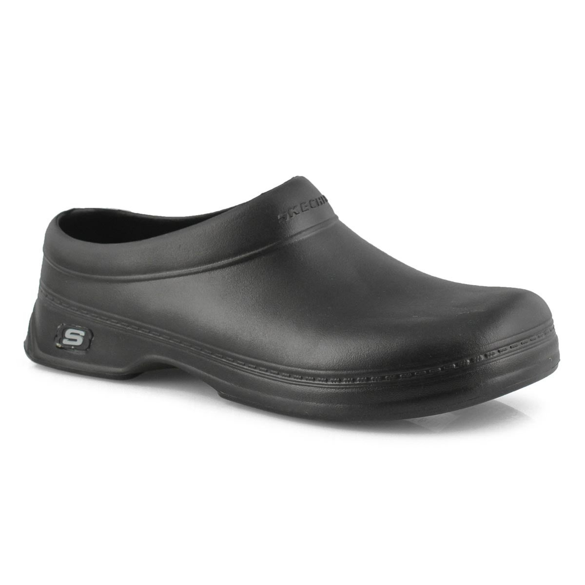 Men's OSWALD BALDER black slip-resistant clogs
