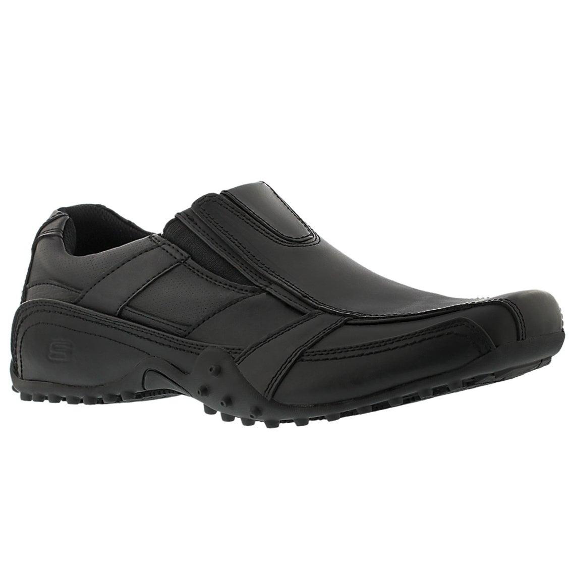 Men's ROCKLAND HOOPER black casual slip ons