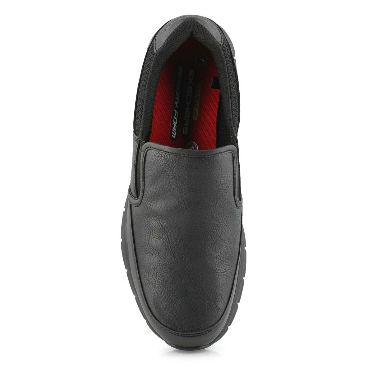 Mns Nampa Groton blk slip resistant shoe