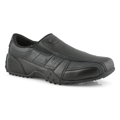 Men's ELSTON KASARI black slip resistant shoes