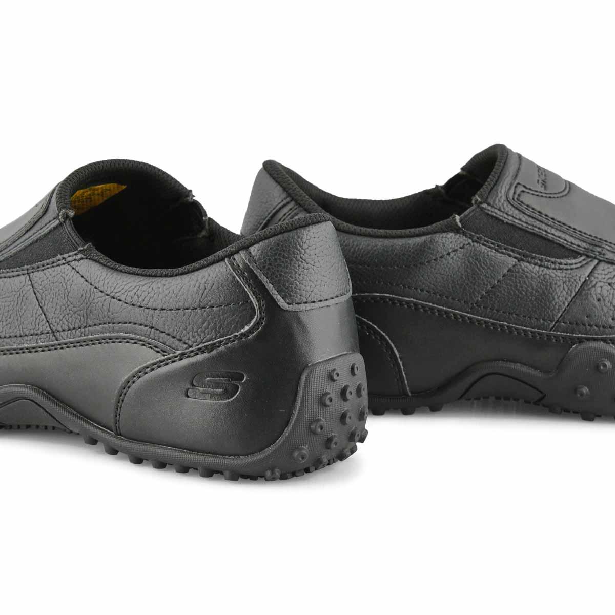 Mns Elston Kasari blk slipresistant shoe