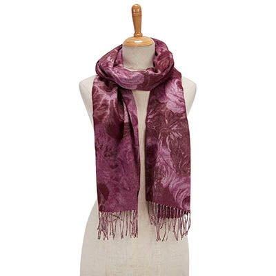 Fraas Foulards ROSE BOUQUET, vin, femmes
