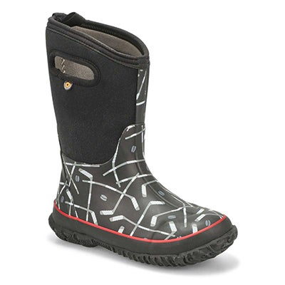 Bys Classic Hockey black boot