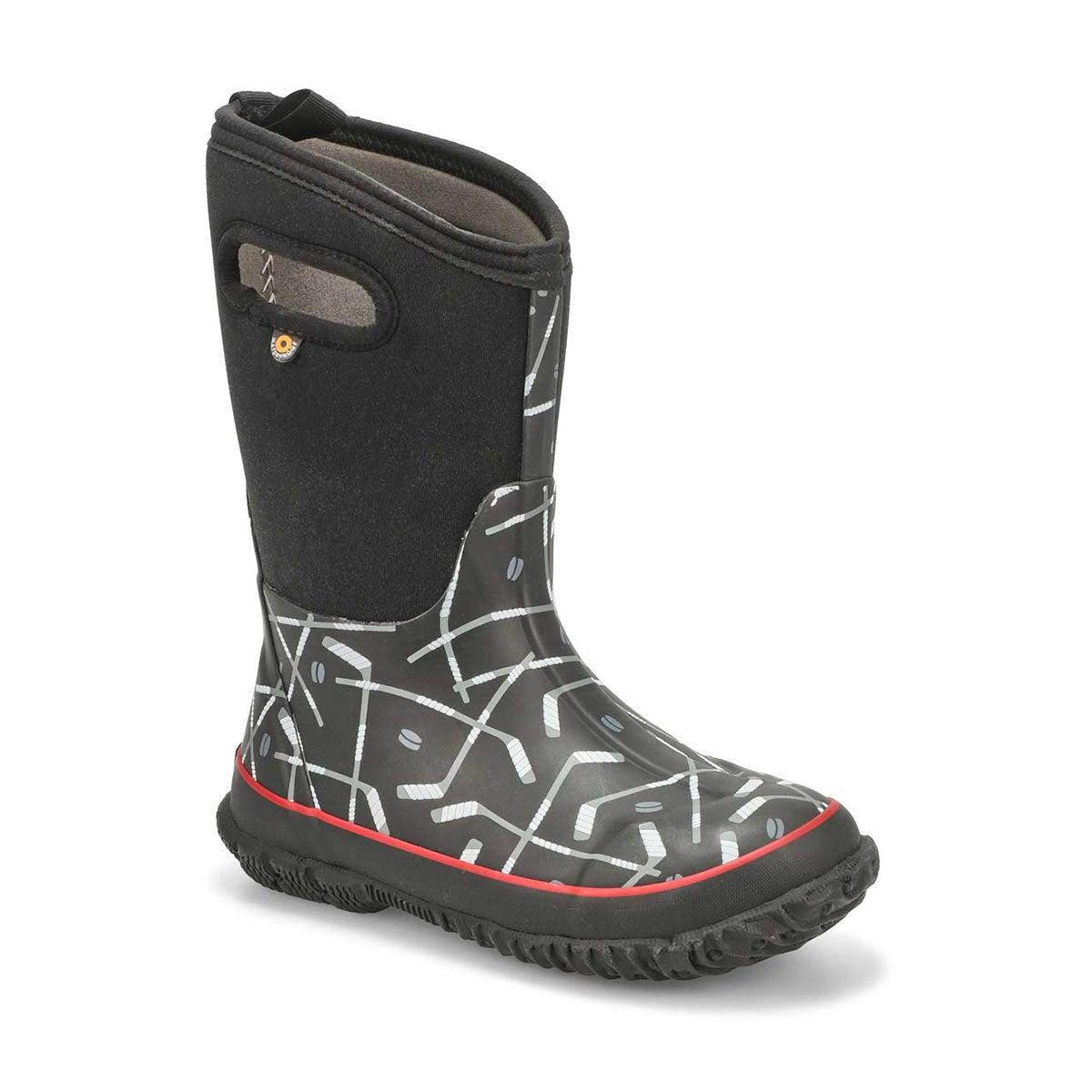 Boys' CLASSIC HOCKEY black boots