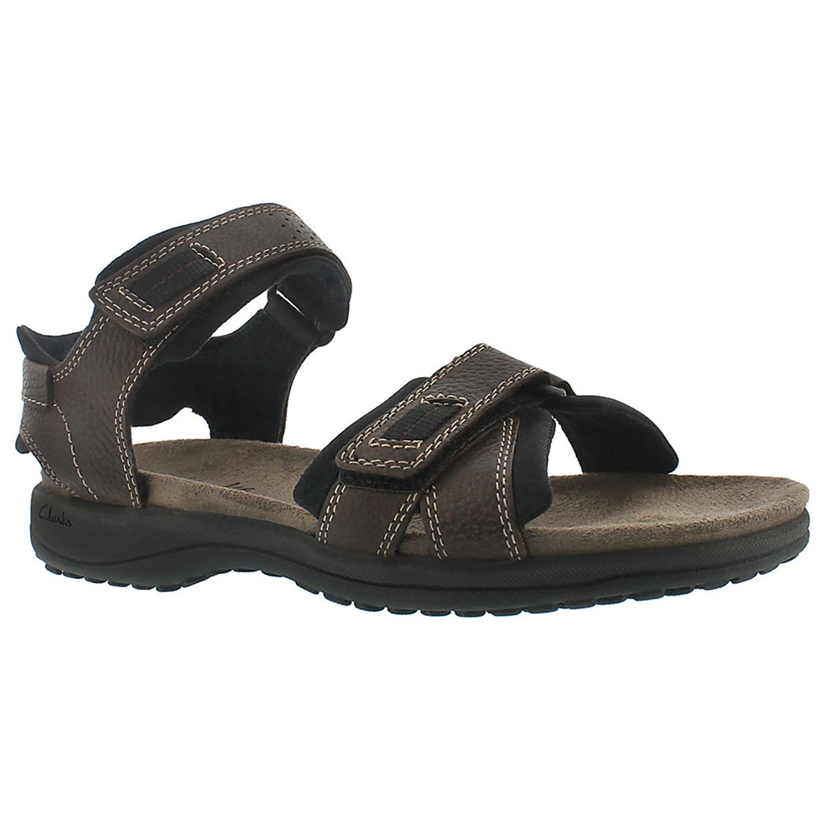 Mns Keating brown 2 strap sandal