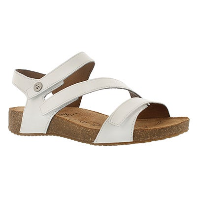 Josef Seibel Women's TONGA 25 white casual sandals