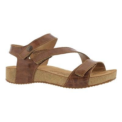 Josef Seibel Women's TONGA 25 camel casual sandals