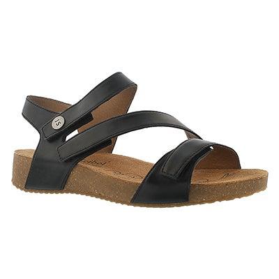 Josef Seibel Women's TONGA 25 black casual sandals