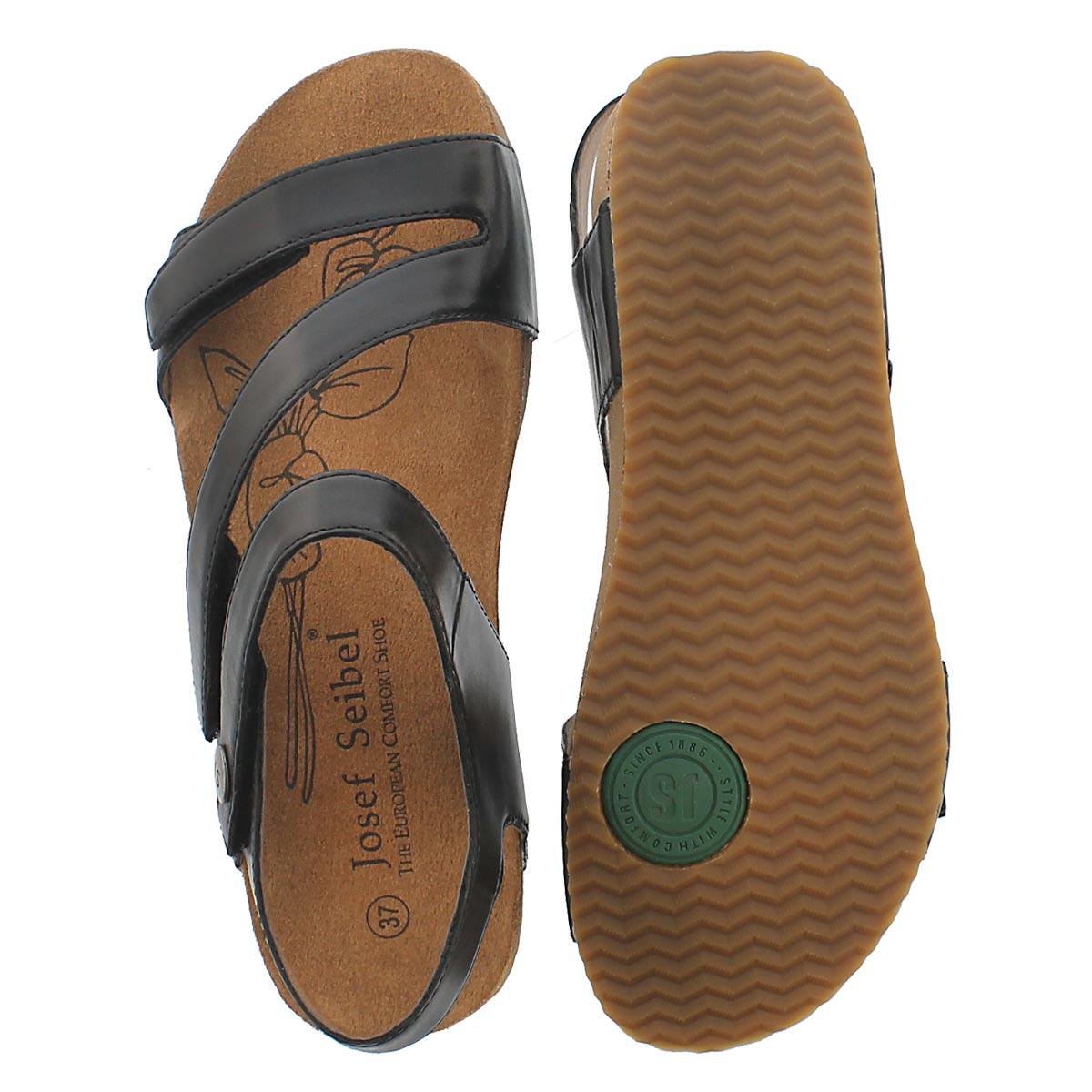 Lds Tonga 25 black casual sandal