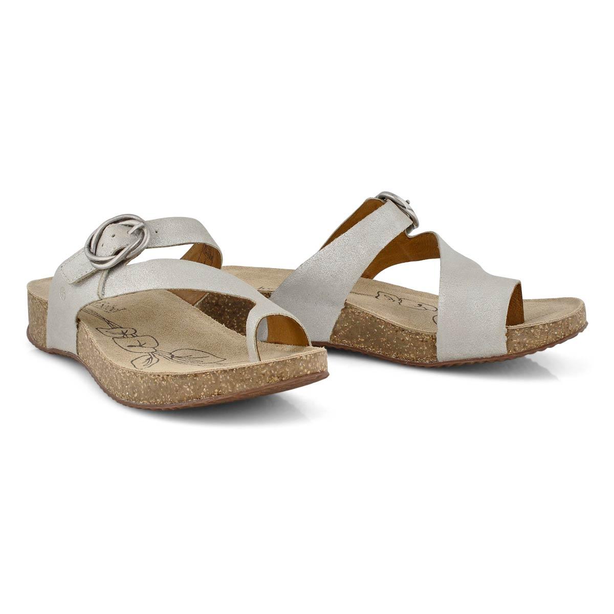 Lds Tonga 52 natrl thong footbed sandal