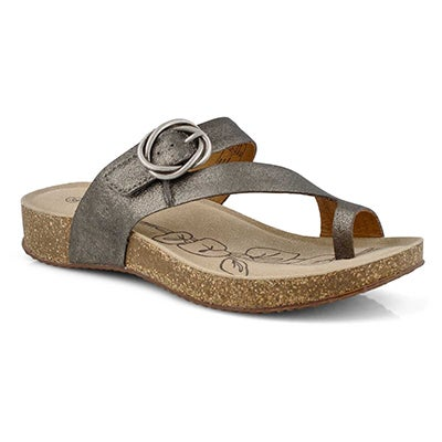 Lds Tonga 52 anthracite footbed sandal