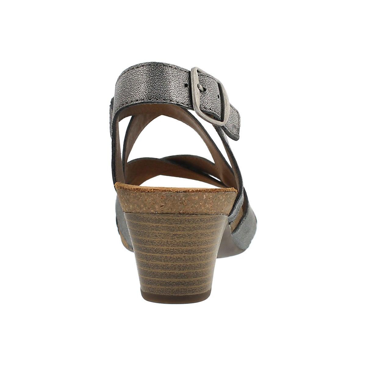 Sandale habill�e Ruth 15, argent, femmes