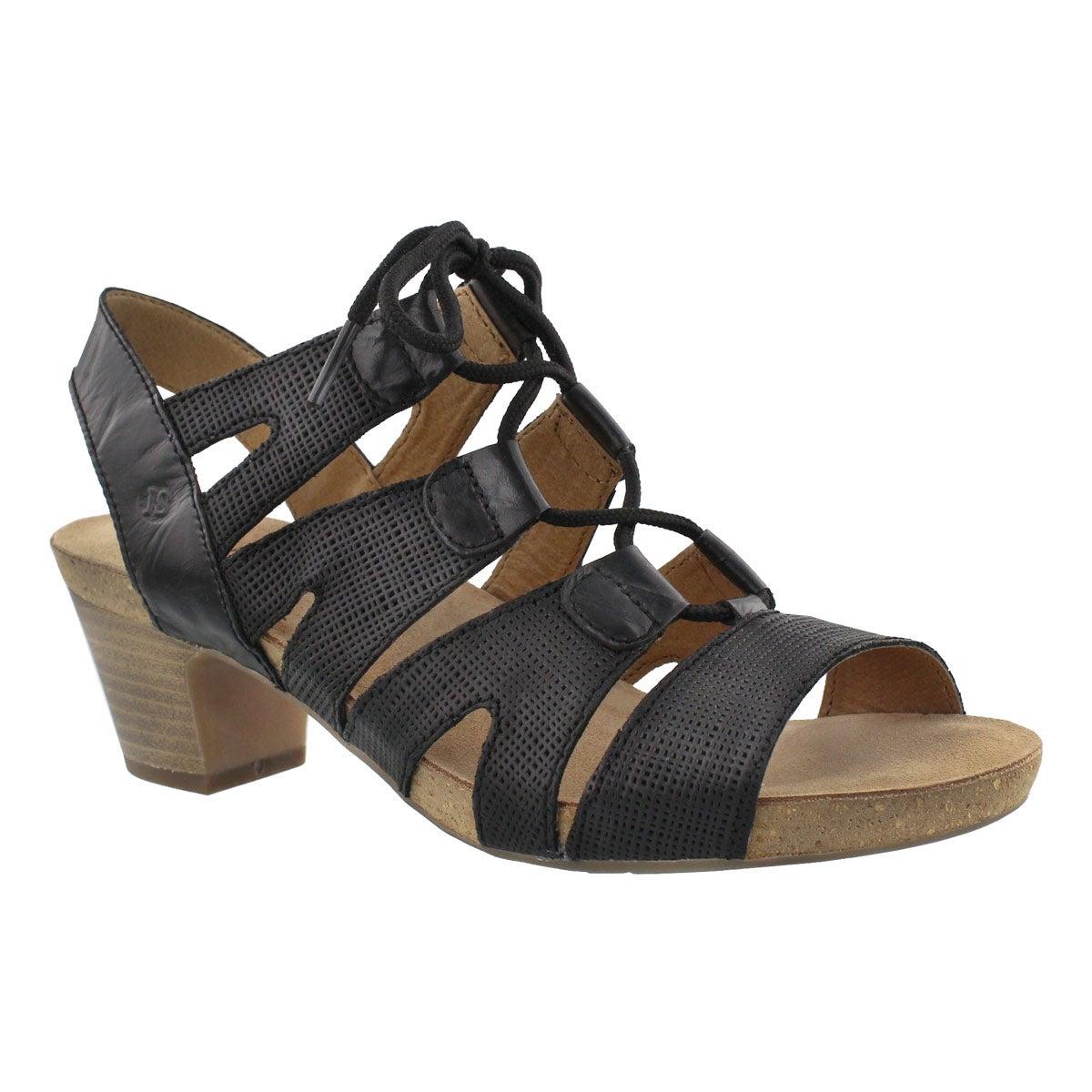 Women's RUTH 29 black dress sandals