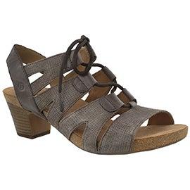 Lds Ruth 29 asphalt dress sandal