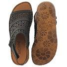 Lds Rosalie 07 black casual sandal