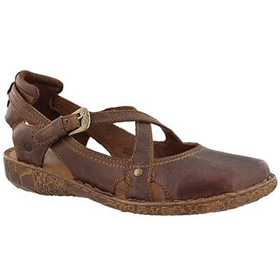 Lds Rosalie 13 brandy casual sandal